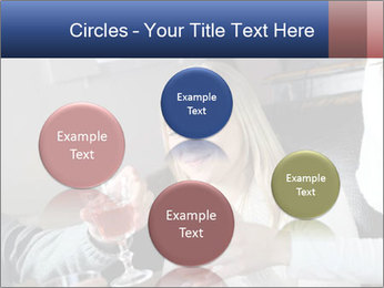 Friends Drink Together PowerPoint Template - Slide 77