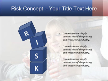 Friends Drink Together PowerPoint Template - Slide 81