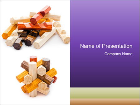 Mess And Order PowerPoint Template