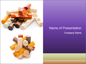 Mess And Order PowerPoint Template - Slide 1