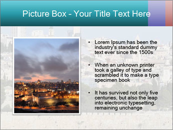 View of Jerusalem PowerPoint Template - Slide 13