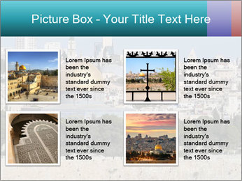View of Jerusalem PowerPoint Templates - Slide 14