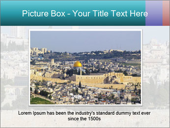 View of Jerusalem PowerPoint Templates - Slide 16