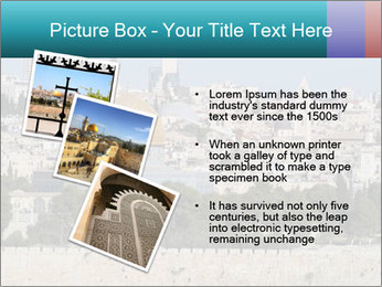 View of Jerusalem PowerPoint Template - Slide 17