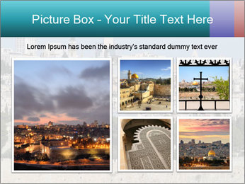 View of Jerusalem PowerPoint Template - Slide 19