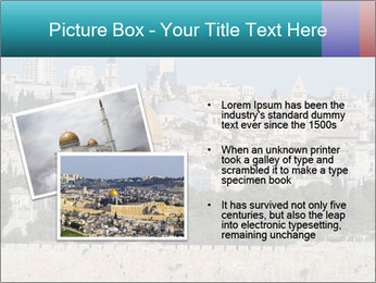View of Jerusalem PowerPoint Template - Slide 20