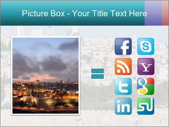 View of Jerusalem PowerPoint Template - Slide 21