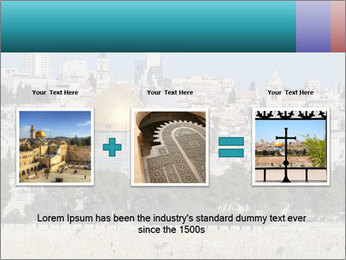 View of Jerusalem PowerPoint Template - Slide 22