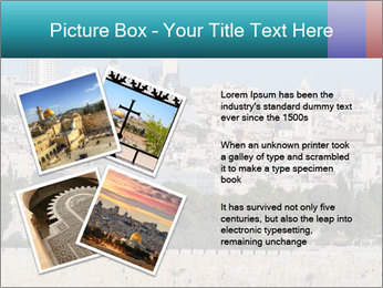 View of Jerusalem PowerPoint Template - Slide 23
