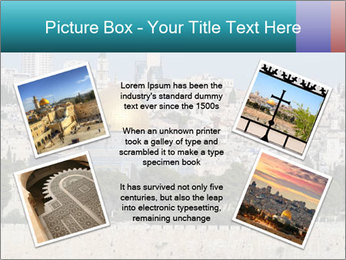 View of Jerusalem PowerPoint Template - Slide 24