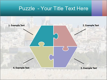 View of Jerusalem PowerPoint Template - Slide 40