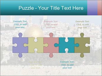 View of Jerusalem PowerPoint Template - Slide 41