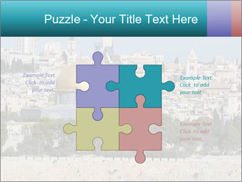 View of Jerusalem PowerPoint Template - Slide 43