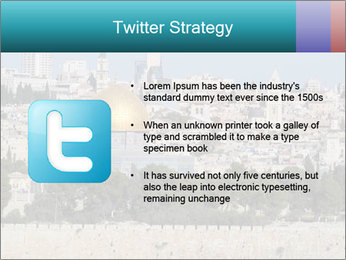 View of Jerusalem PowerPoint Template - Slide 9
