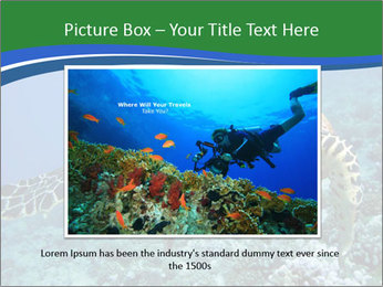 Reef And Turtle PowerPoint Template - Slide 15