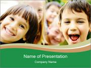 Cheerful Kids PowerPoint Templates