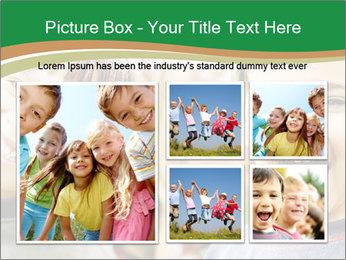 Cheerful Kids PowerPoint Template - Slide 19