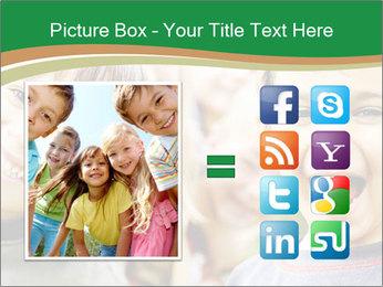 Cheerful Kids PowerPoint Template - Slide 21