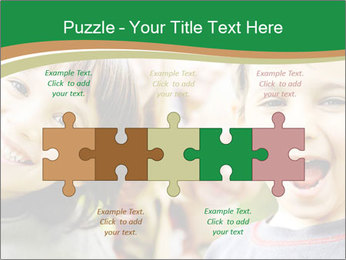 Cheerful Kids PowerPoint Template - Slide 41