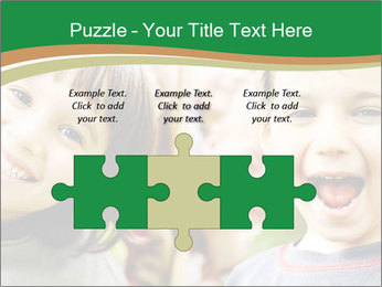 Cheerful Kids PowerPoint Template - Slide 42