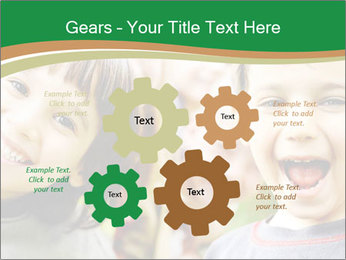 Cheerful Kids PowerPoint Template - Slide 47