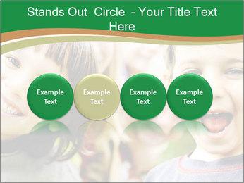 Cheerful Kids PowerPoint Template - Slide 76