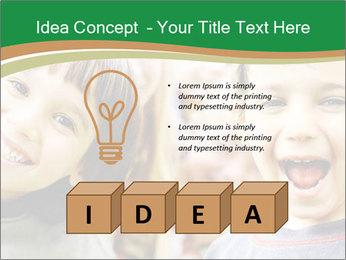 Cheerful Kids PowerPoint Template - Slide 80