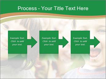 Cheerful Kids PowerPoint Template - Slide 88