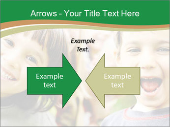 Cheerful Kids PowerPoint Template - Slide 90