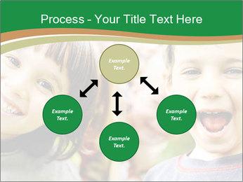 Cheerful Kids PowerPoint Template - Slide 91