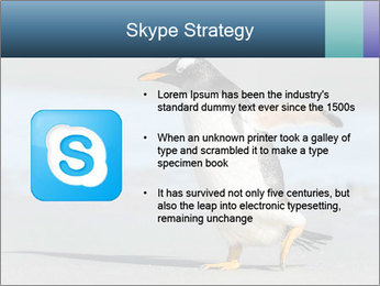 Funny Penguin PowerPoint Template - Slide 8