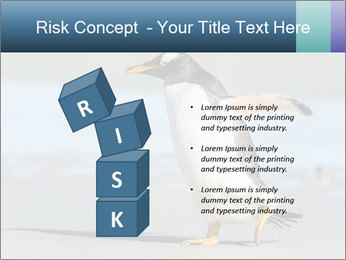 Funny Penguin PowerPoint Template - Slide 81