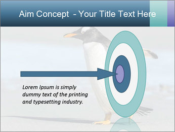 Funny Penguin PowerPoint Template - Slide 83