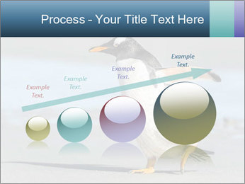 Funny Penguin PowerPoint Template - Slide 87