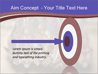 Wild Bats PowerPoint Template - Slide 83