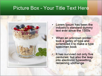 Muesli With Berries PowerPoint Templates - Slide 13