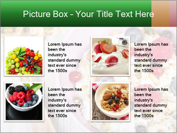 Muesli With Berries PowerPoint Templates - Slide 14
