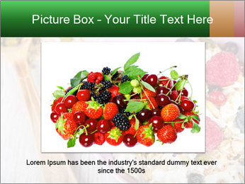 Muesli With Berries PowerPoint Templates - Slide 15