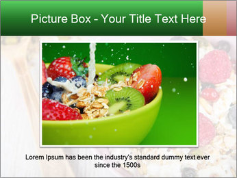 Muesli With Berries PowerPoint Templates - Slide 16