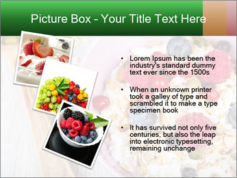 Muesli With Berries PowerPoint Templates - Slide 17