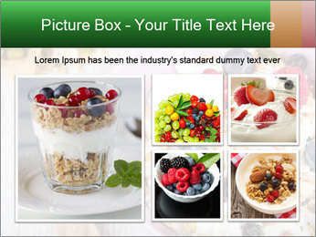 Muesli With Berries PowerPoint Templates - Slide 19