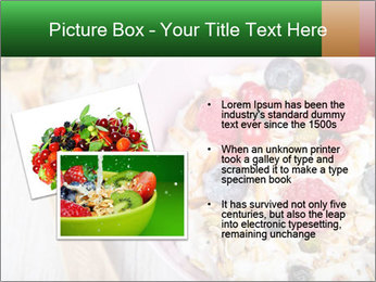 Muesli With Berries PowerPoint Template - Slide 20
