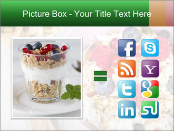 Muesli With Berries PowerPoint Template - Slide 21