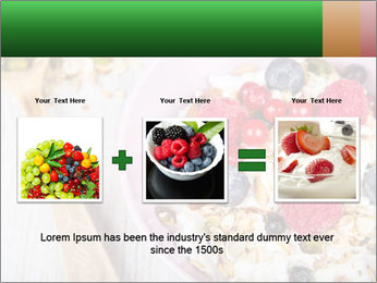 Muesli With Berries PowerPoint Template - Slide 22