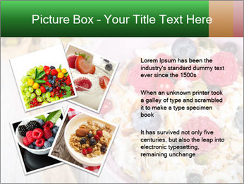 Muesli With Berries PowerPoint Templates - Slide 23