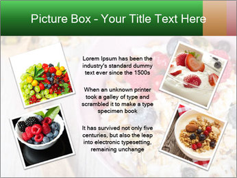 Muesli With Berries PowerPoint Template - Slide 24