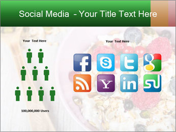 Muesli With Berries PowerPoint Template - Slide 5