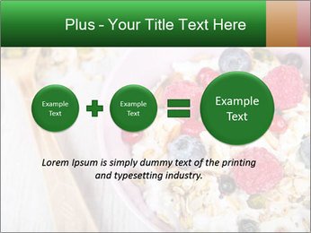 Muesli With Berries PowerPoint Templates - Slide 75