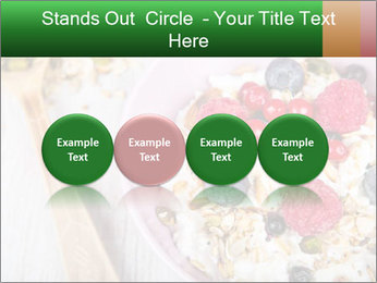 Muesli With Berries PowerPoint Templates - Slide 76