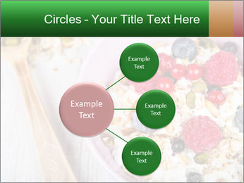 Muesli With Berries PowerPoint Templates - Slide 79